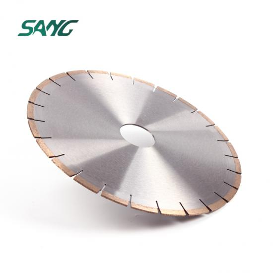 Marble cutting disc for stone