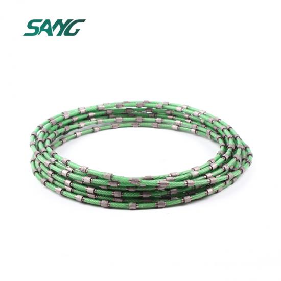diamond wire saw, wire rope saw, wire saw rope, diamond rope saw, marble quarry diamond wire saw, diamond cutting rope