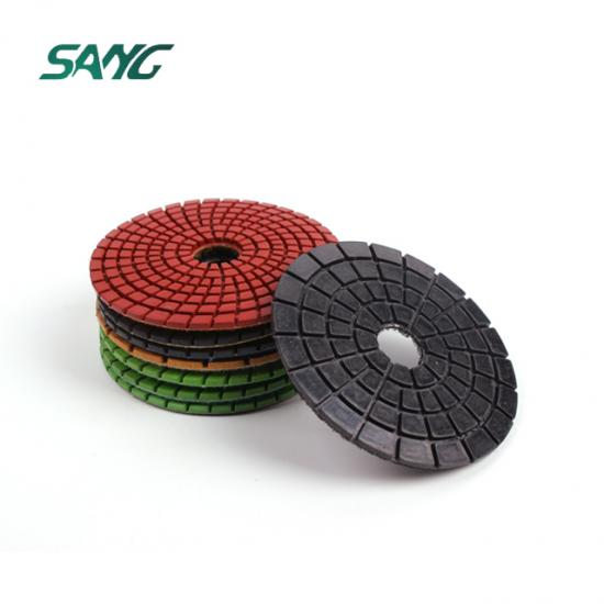 edge polishing pad granite